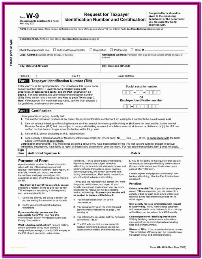 Fillable 1099 Form 2018 Free