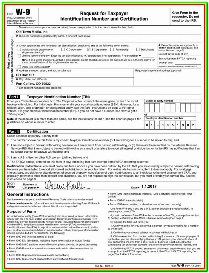 Tax Form 1099 Rental Property