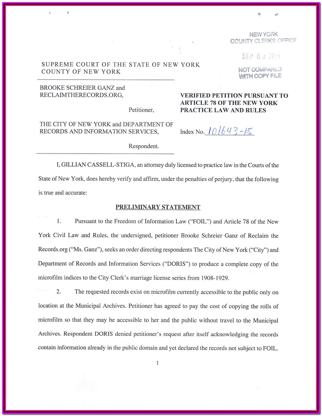 Uncontested Divorce Forms Nyc