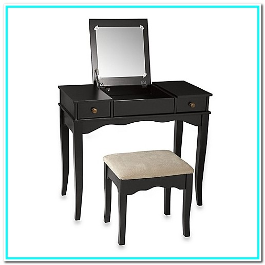 Black Makeup Vanity Bed Bath And Beyond
