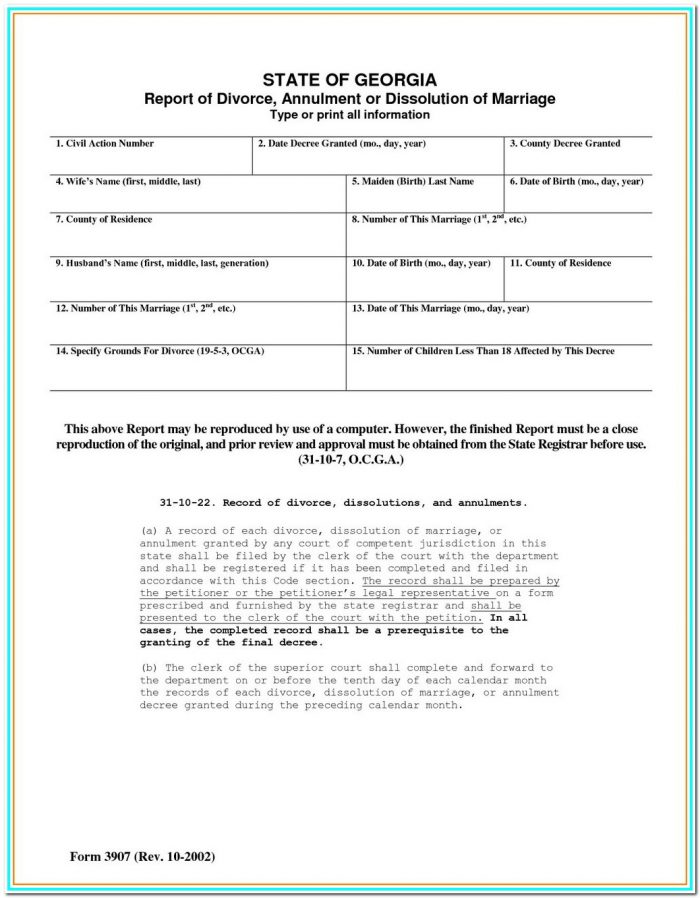 Divorce Forms Nj Pdf