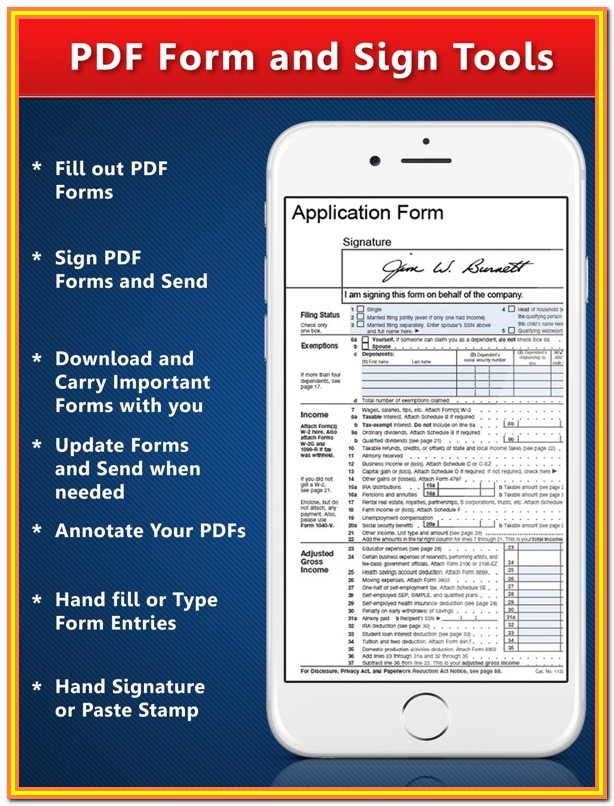 Fillable Forms Pdf Ipad