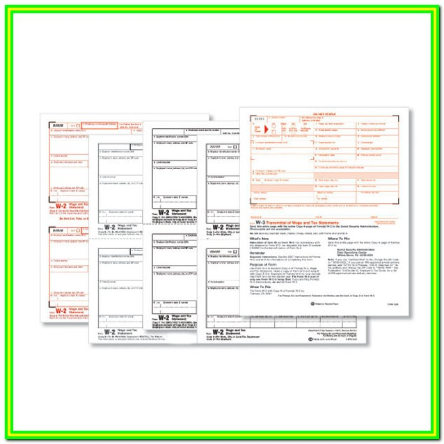 Irs Forms W 2 2015