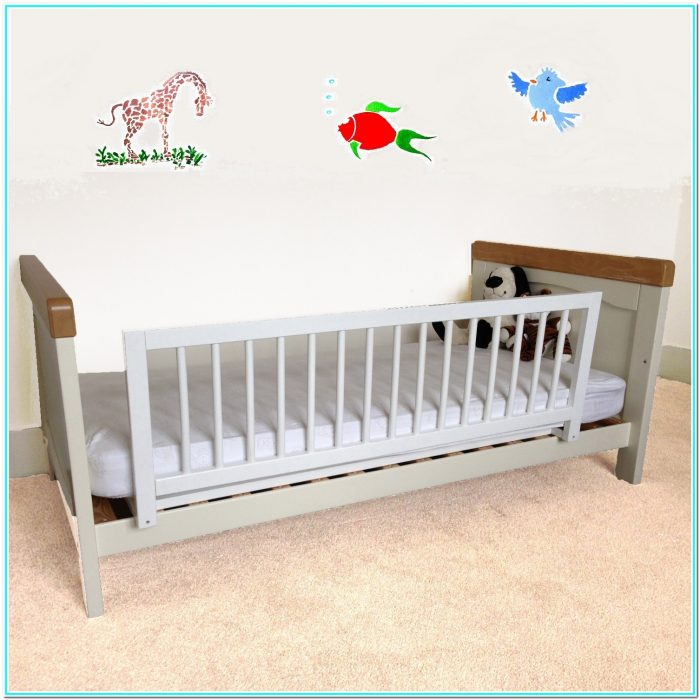Kid Bed With Rails