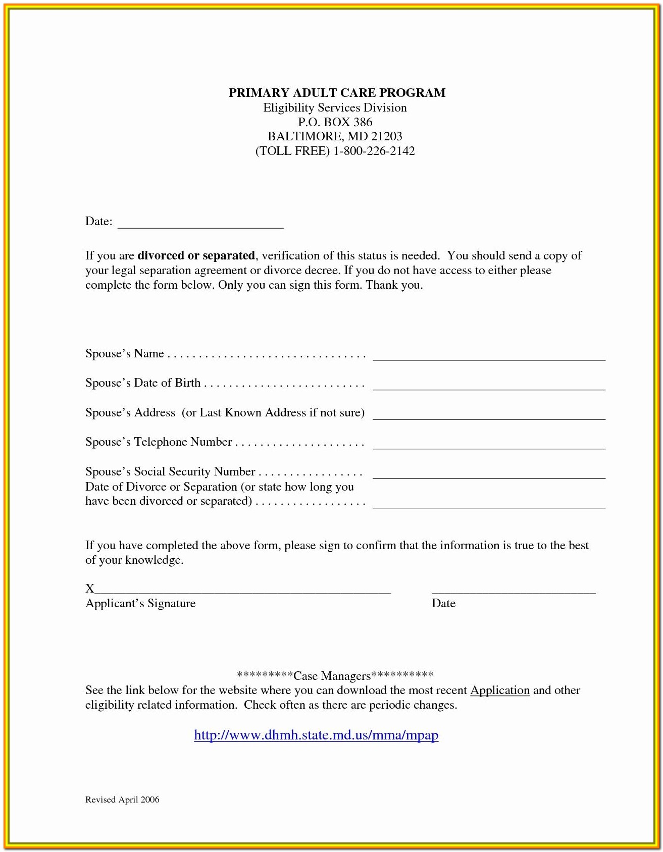 North Carolina Divorce Forms Download