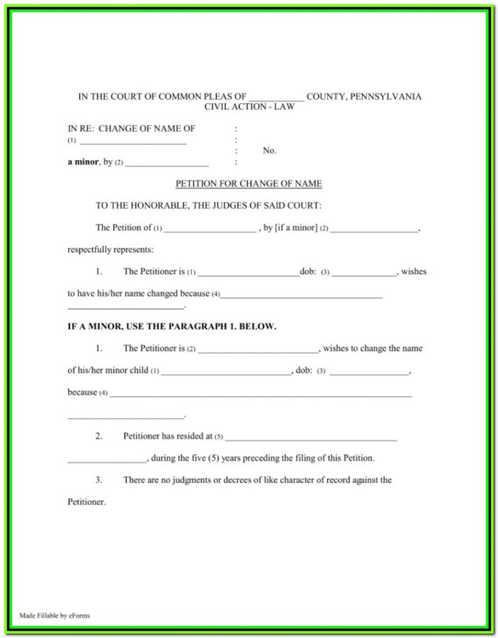 Pa Divorce Forms Allegheny County