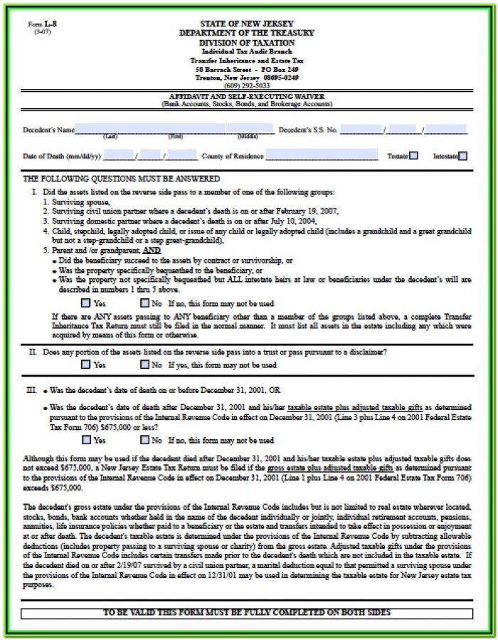 Small Claim Court Form 1a