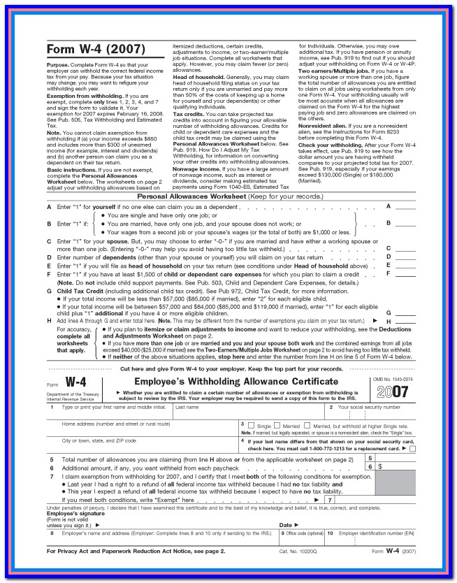 California State Tax W2 Form