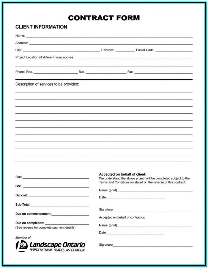 Aia Contract Forms List