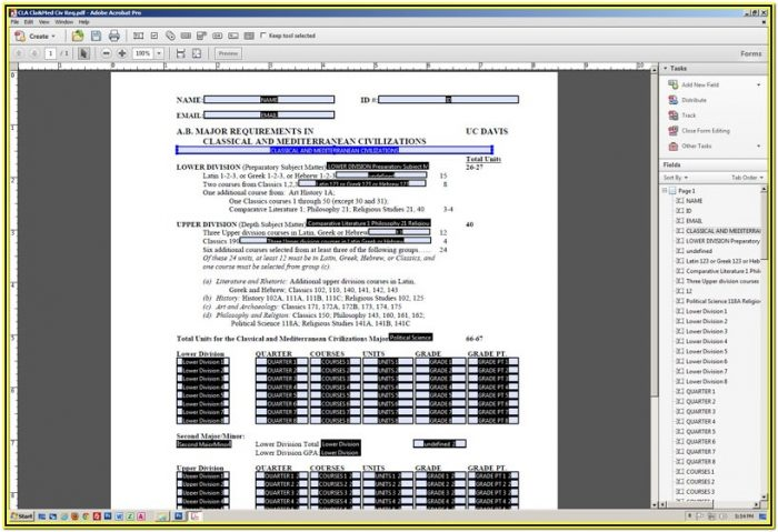 Convert Excel Form To Fillable Pdf