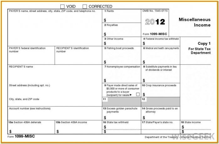 1009 Misc Form