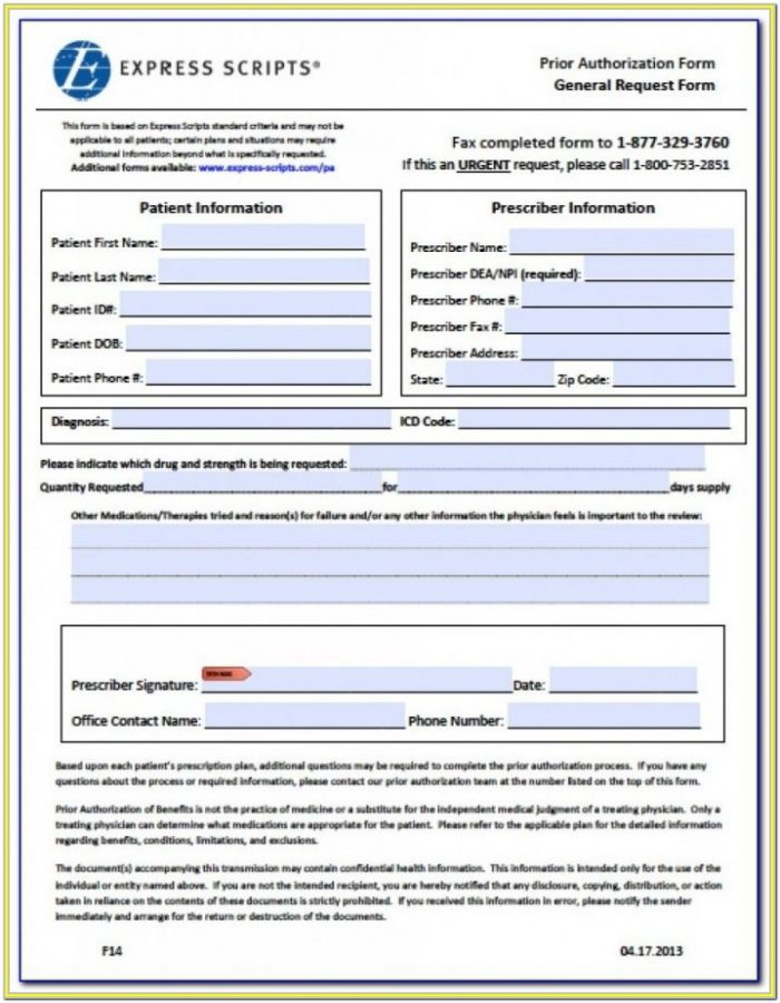 Aarp Prior Auth Forms