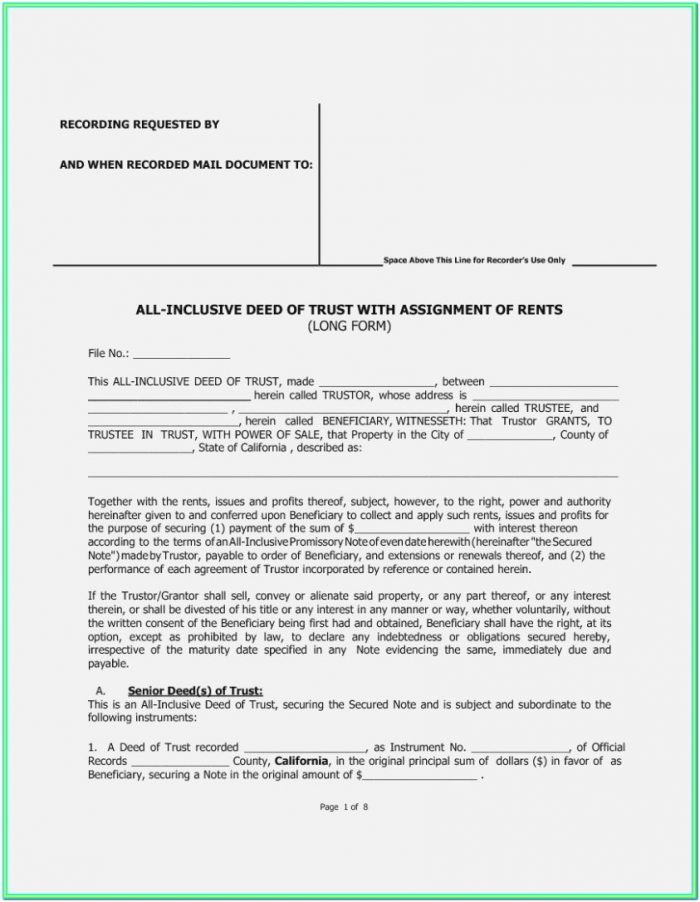 Affidavit Of Death Of Trustee Form