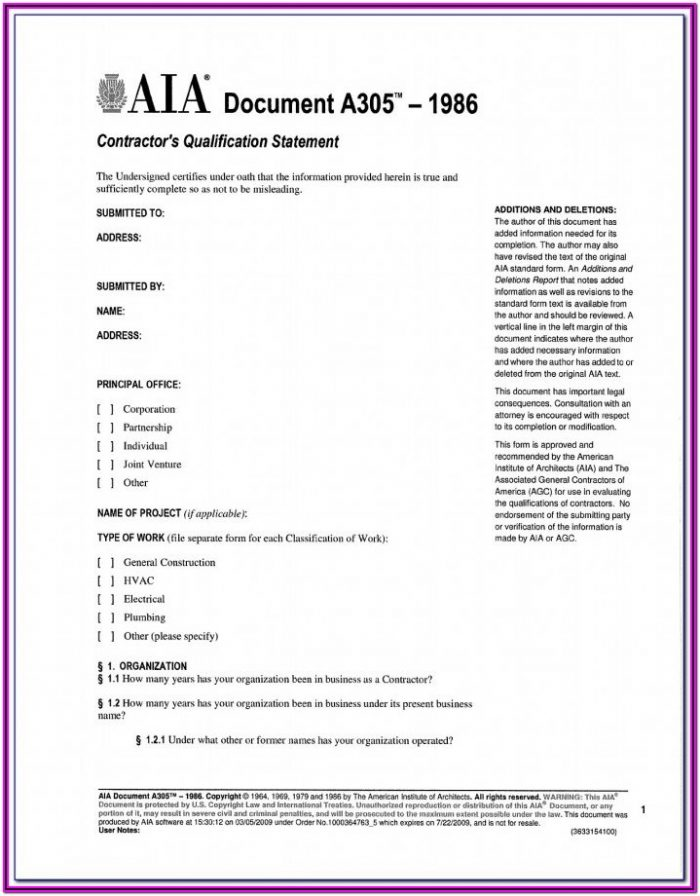 Aia Form G706 Free Download