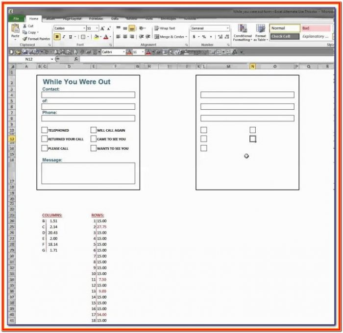 Create A Fillable Pdf Form From Excel