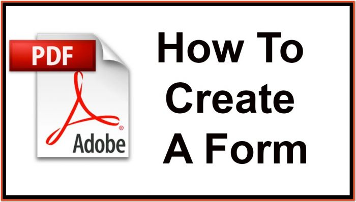 Create A Fillable Pdf Form From Scratch