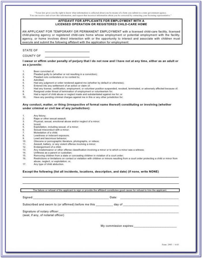 Elder Care Agreement (form 85) Pdf