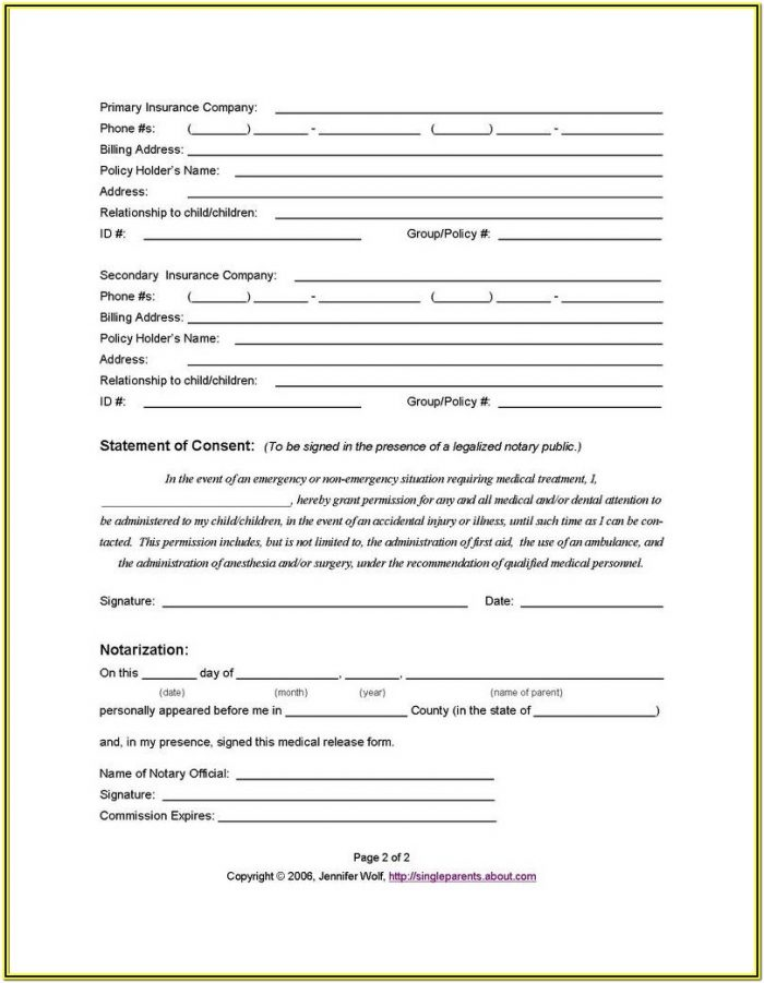 Free Printable Guardianship Forms Texas