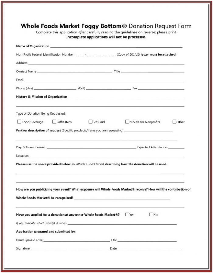 Goodwill Donation Forms For Taxes