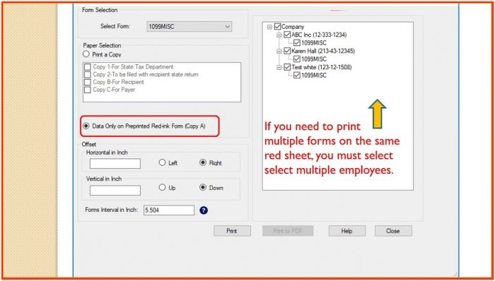How To Print 1099 Forms