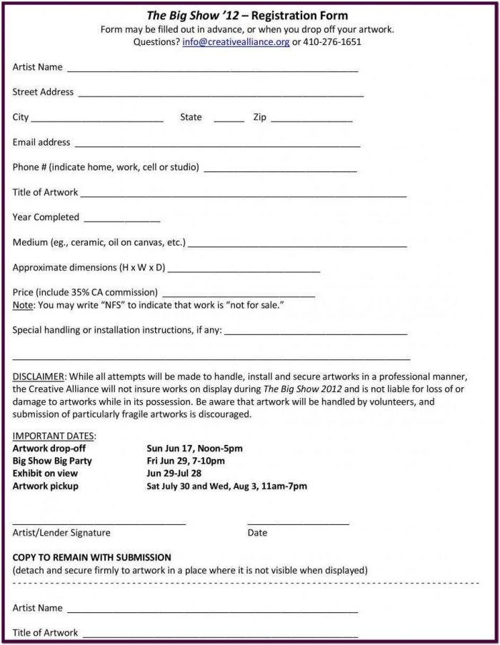 Layaway Contract Form Free