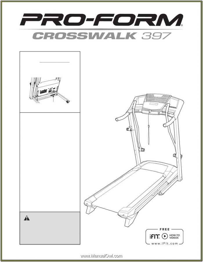 Proform Crosswalk 397