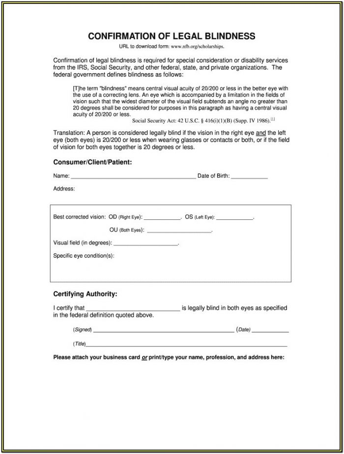 Ssa Disability Forms