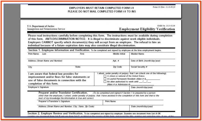 W2 Form Employees Fill Out