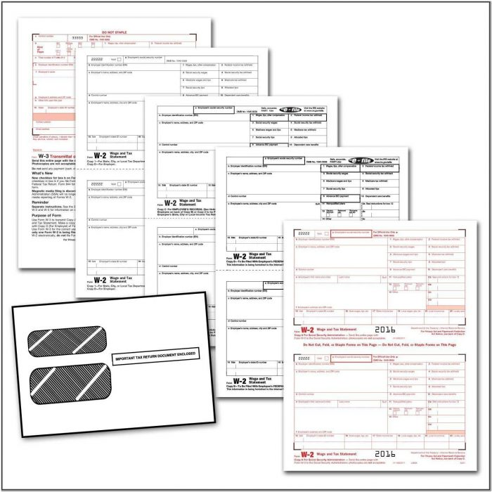 Where To Get W2 Forms For Employees