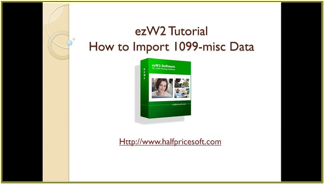 1099 Misc Form Software