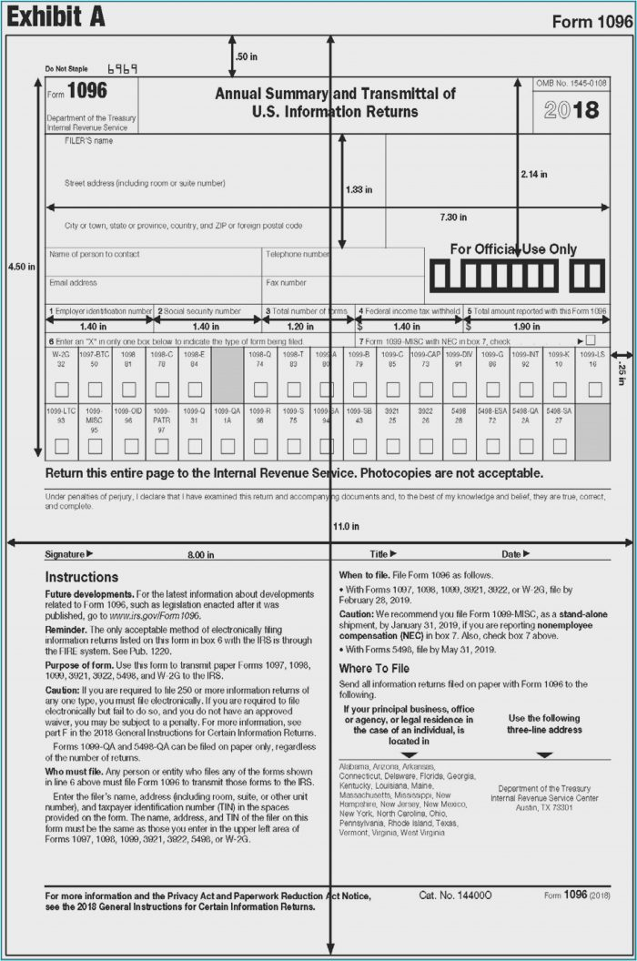 Due Date For Form 1099 Misc