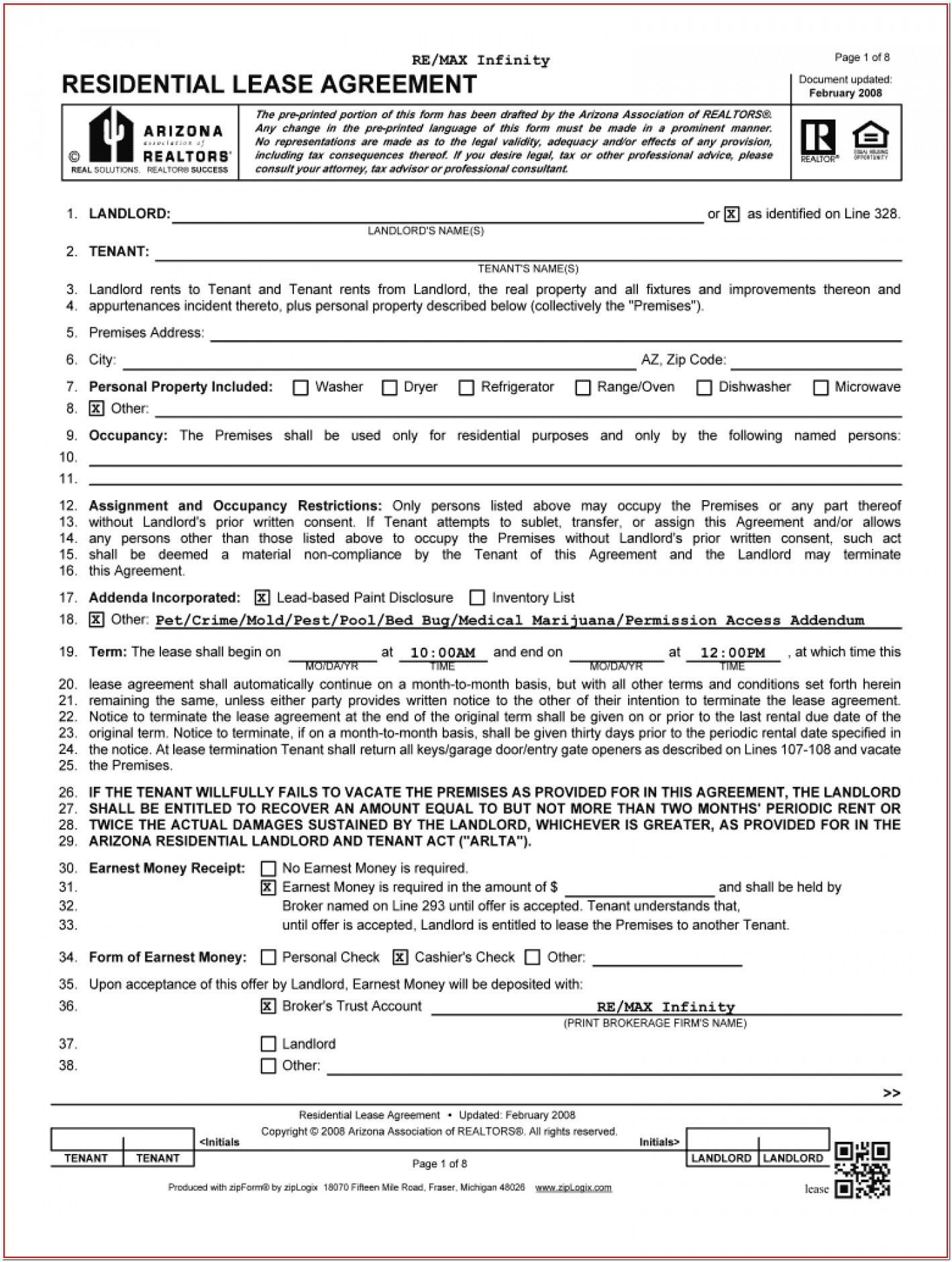 Free Car Rental Agreement Form Pdf