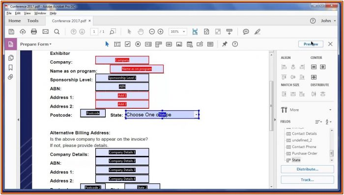 Free Software To Create Fillable Pdf Forms