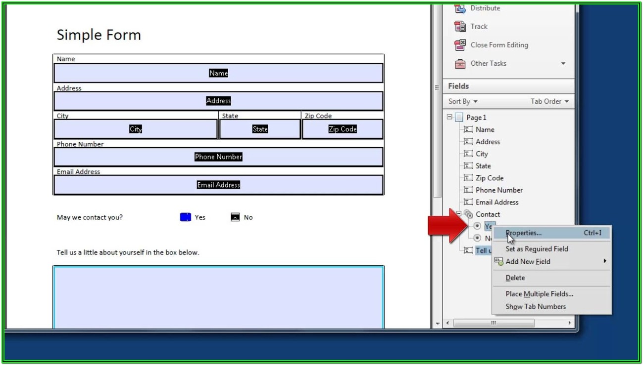 Software To Create Fillable Pdf Forms